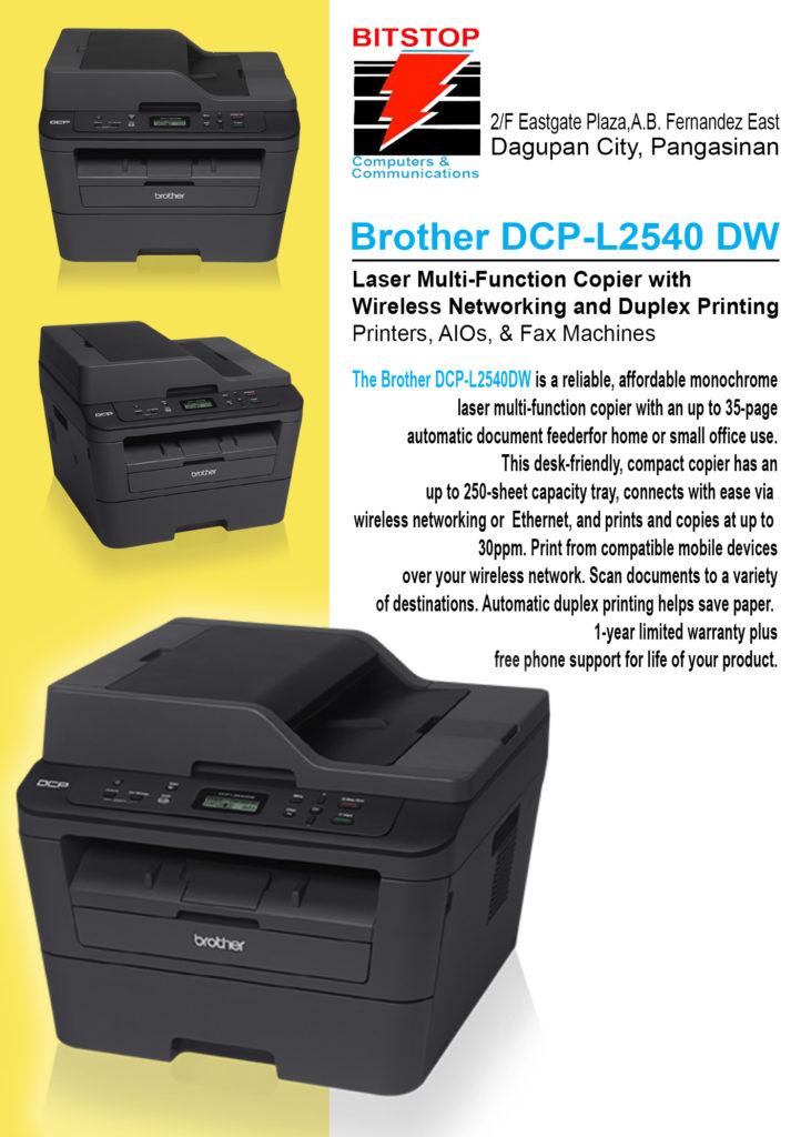 Multi-function laser printer